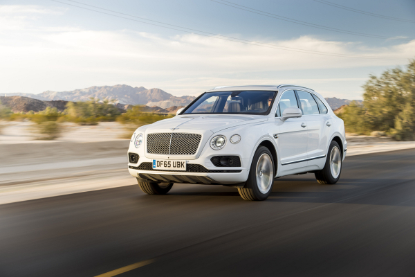 Bentley Bentayga Receives 'Game Changer' Award © Volkswagen AG