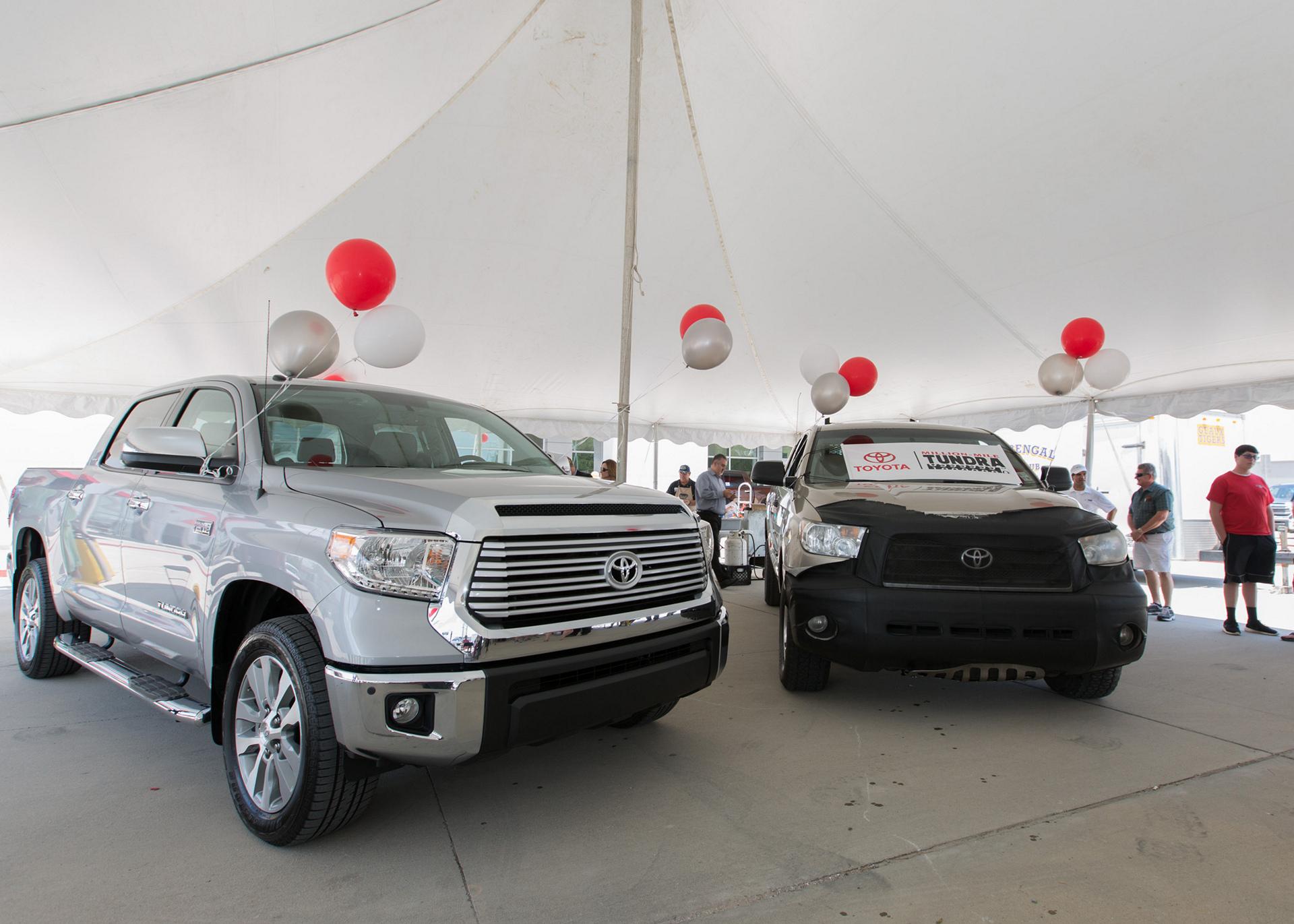 Million Mile Toyota Tundra © Toyota Motor Corporation