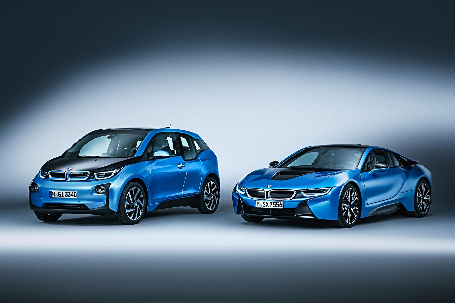 2017 BMW i3 and BMW i8 © BMW AG