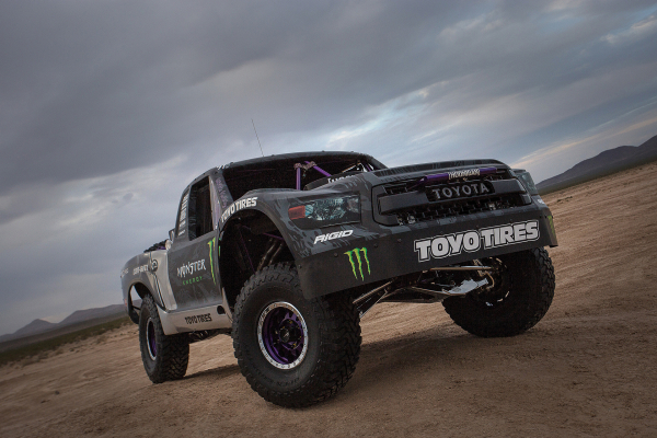 Toyota Tundra TRD Pro Trophy Truck © Toyota Motor Corporation