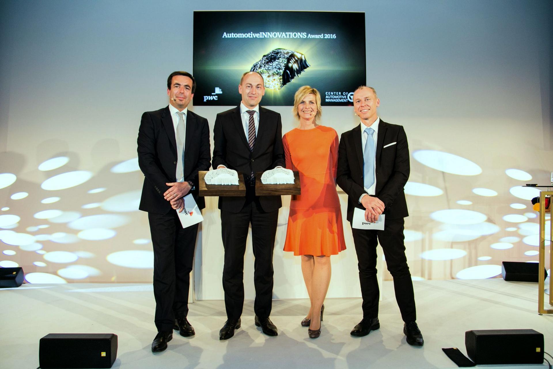 "Audi is ""Most Innovative Premium Brand"" © Volkswagen AG"