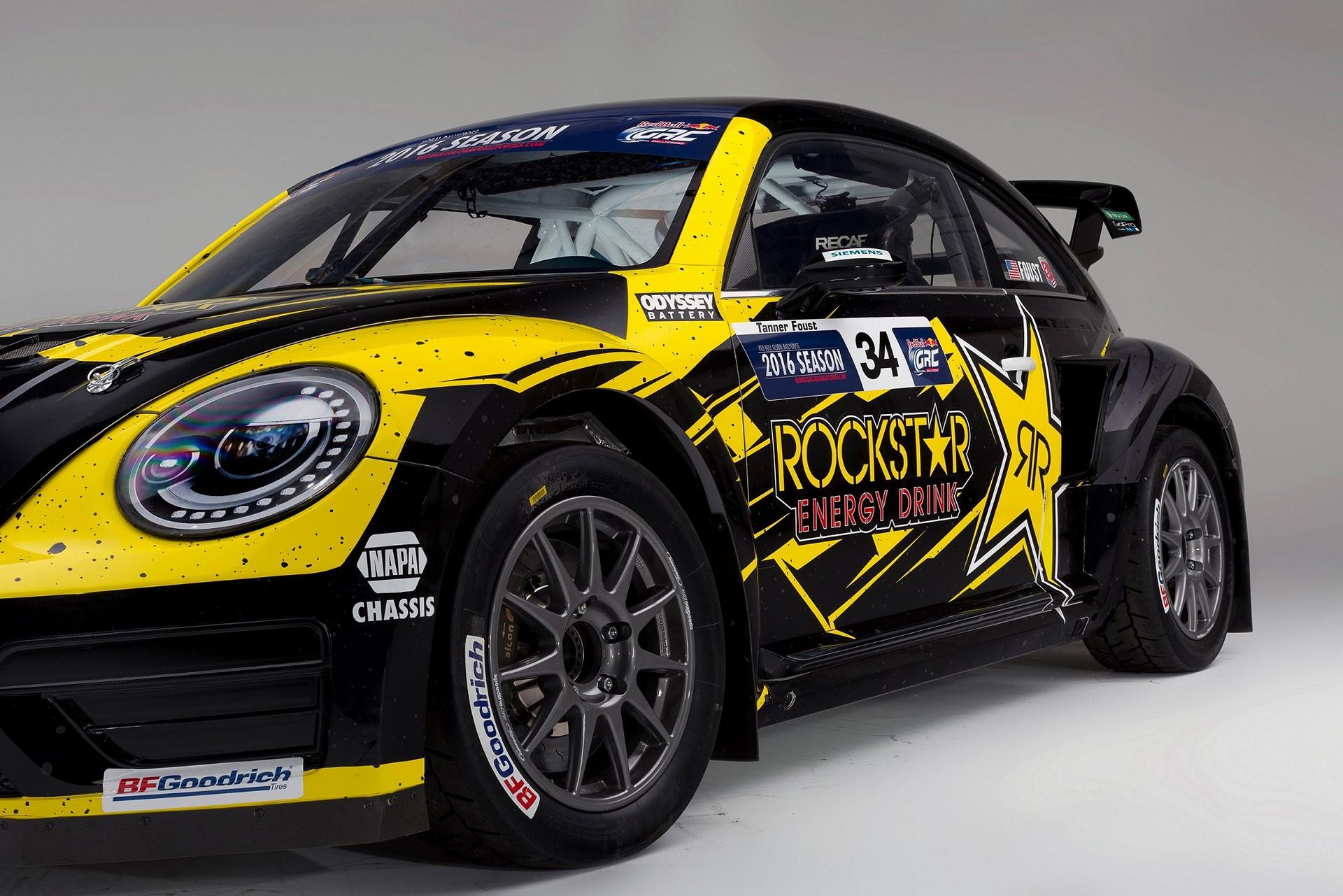Volkswagen andretti rallycross starts title defense at for Tanner motors phoenix az