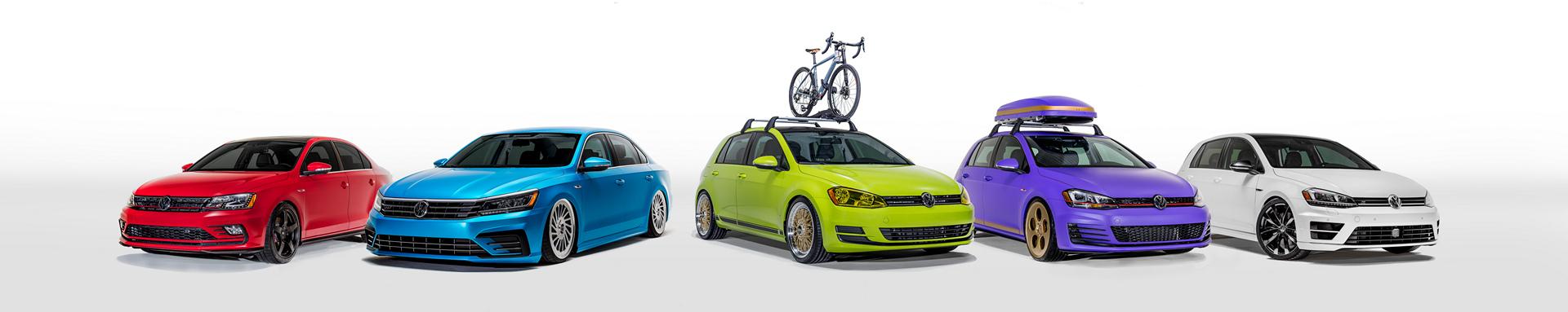 VW Enthusiast Vehicle Fleet © Volkswagen AG
