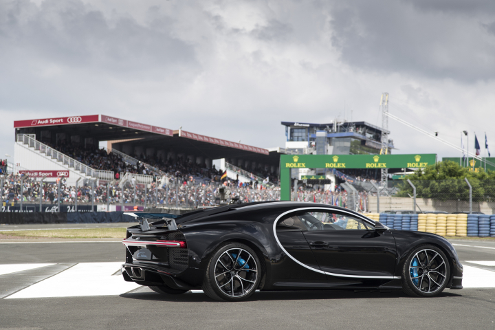 Bugatti Chiron Celebrates its Debut in France at Le Mans