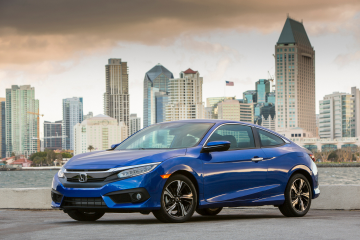 All-new Honda Civic Coupe Earns IIHS TOP SAFETY PICK+ Rating