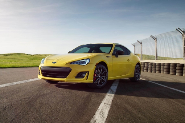 2017 Subaru BRZ Series.Yellow © Fuji Heavy Industries, Ltd.