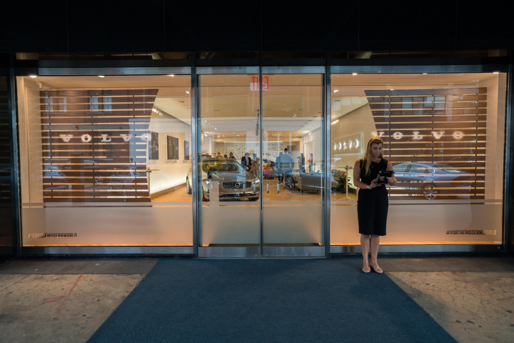 Volvo Opens New York City Pop Up Store