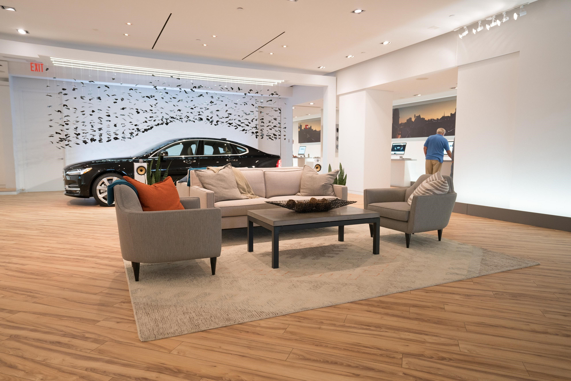 Volvo Opens New York City Pop Up Store © Zhejiang Geely Holding Group Co., Ltd