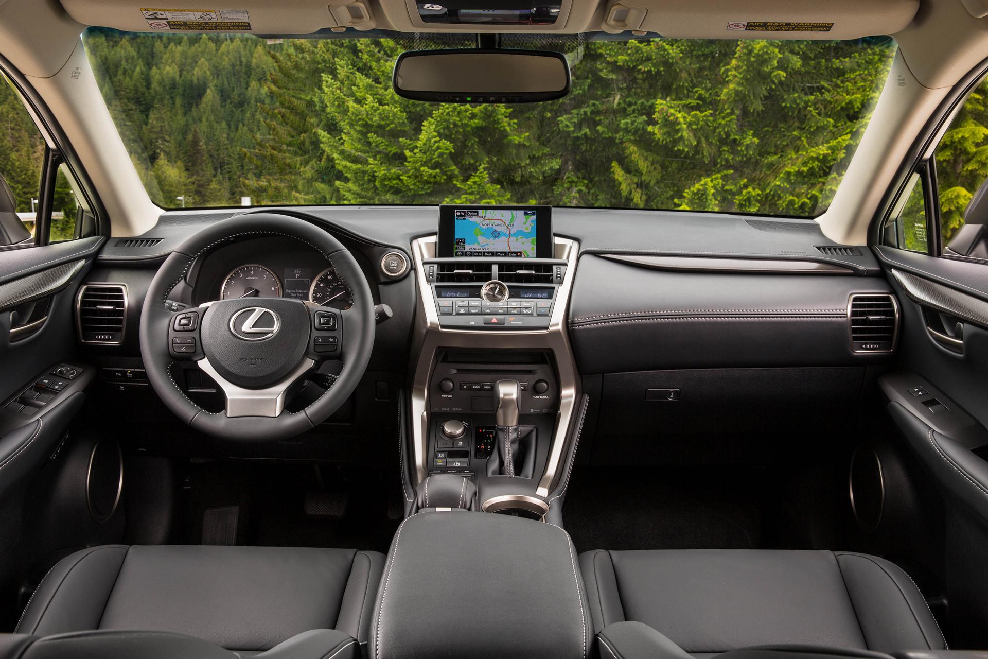 2016 Lexus NX 200t © Toyota Motor Corporation