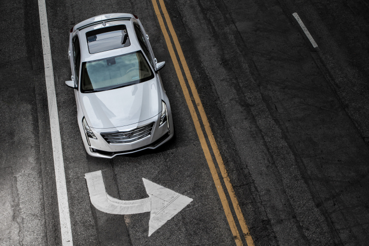 Cadillac CT6 Features Industry-First Surround-View Video Recording System