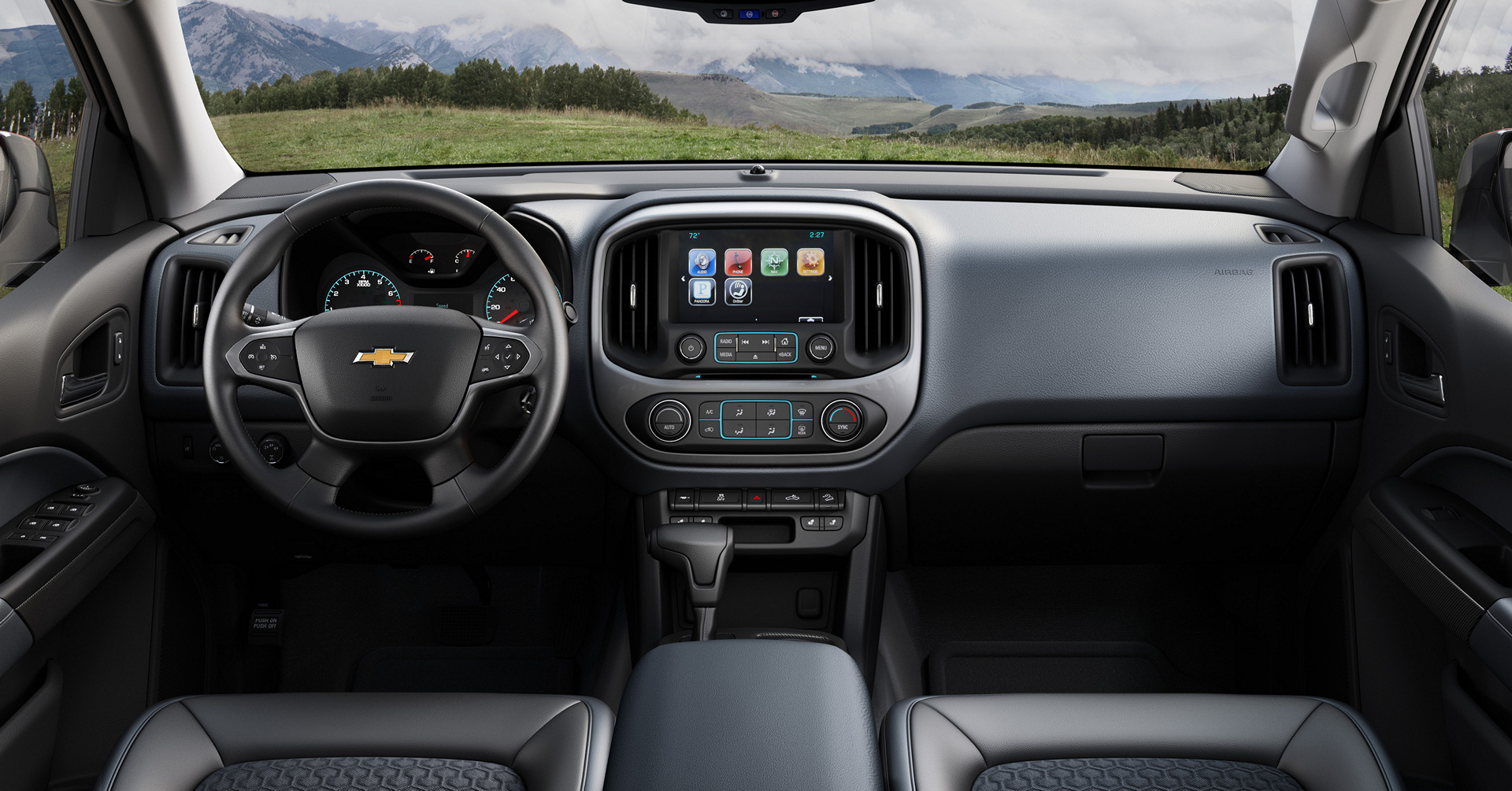 2016 Chevrolet Colorado © General Motors