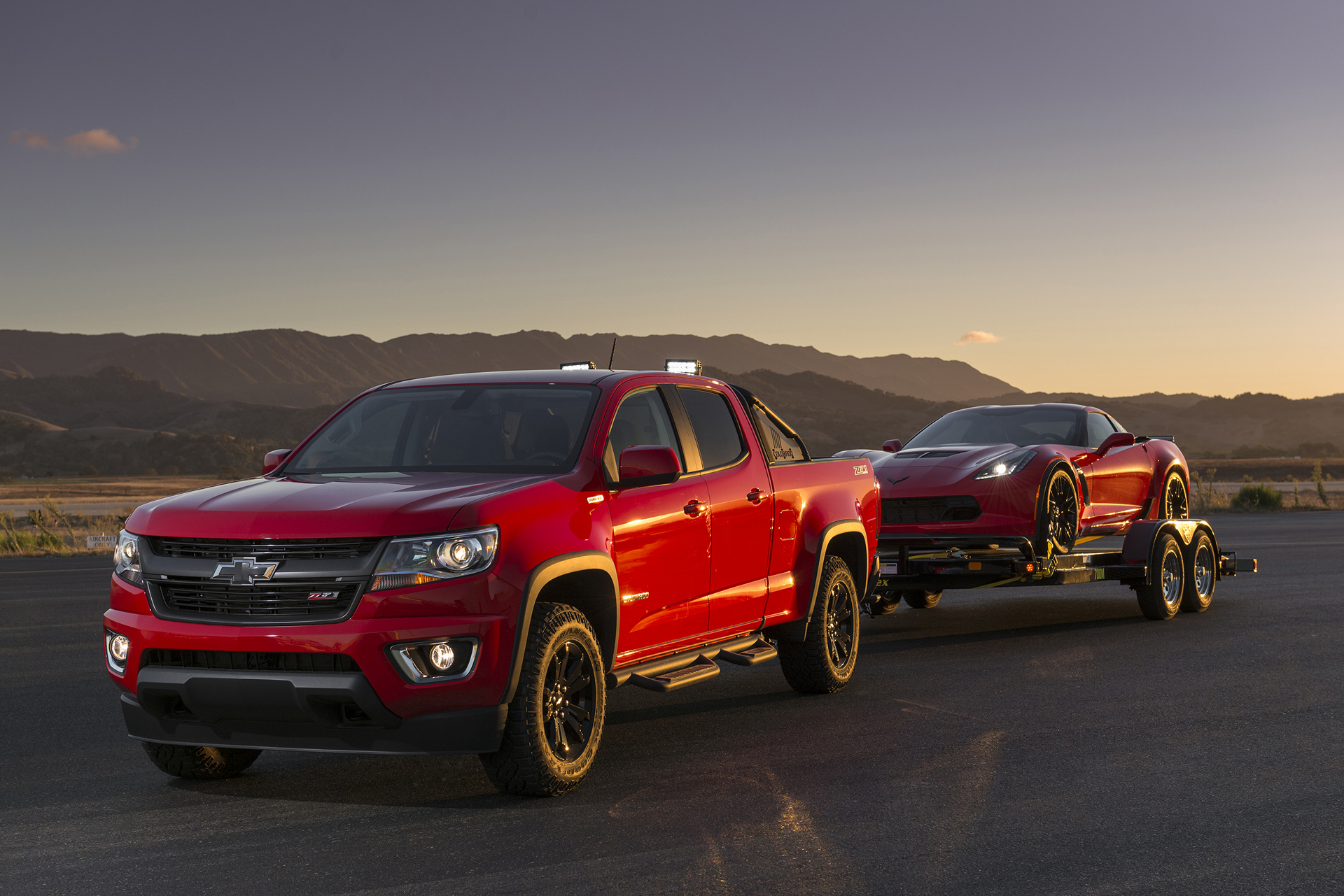 2016 Chevrolet Colorado Diesel © General Motors