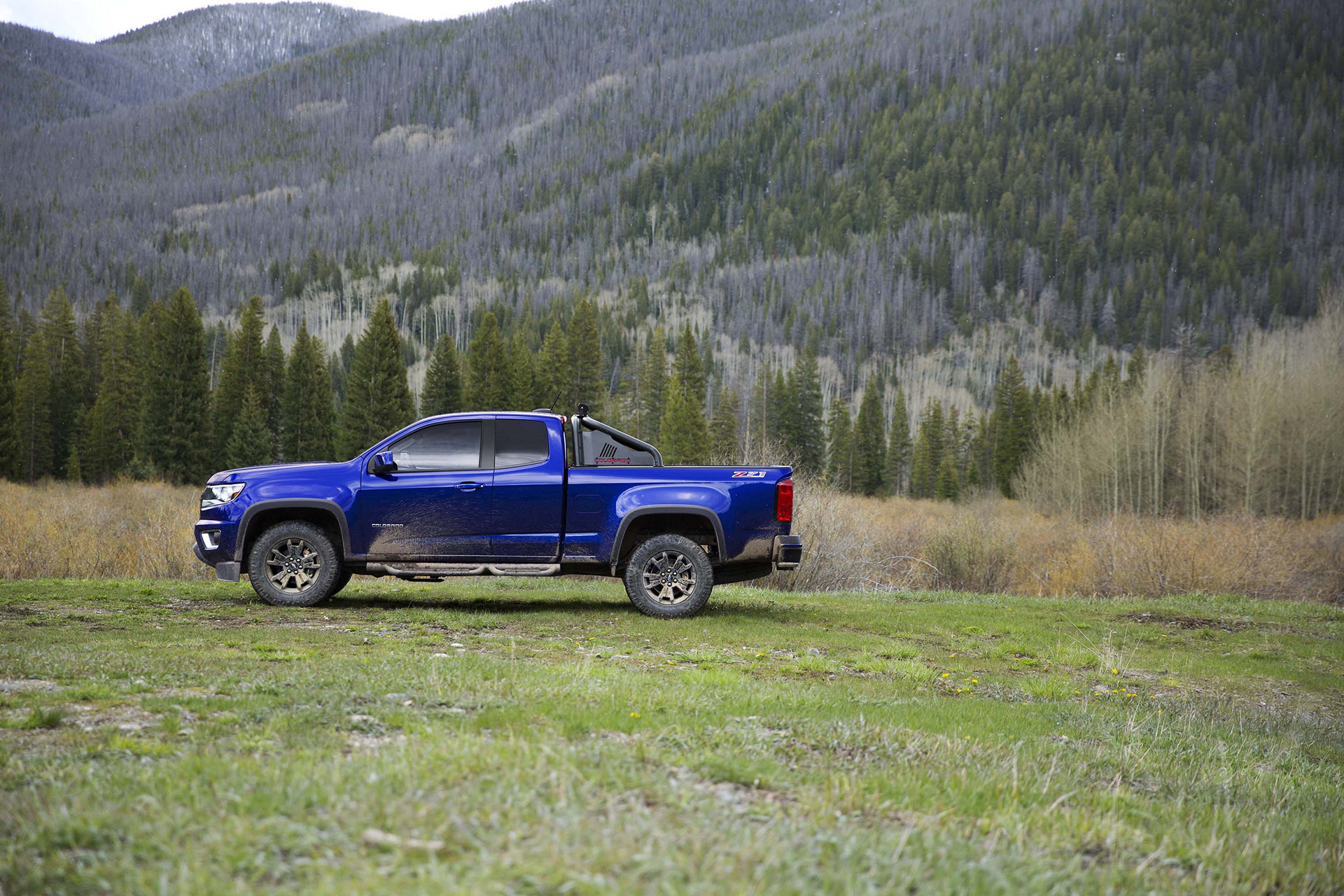 2016 Chevrolet Colorado Trail Boss © General Motors