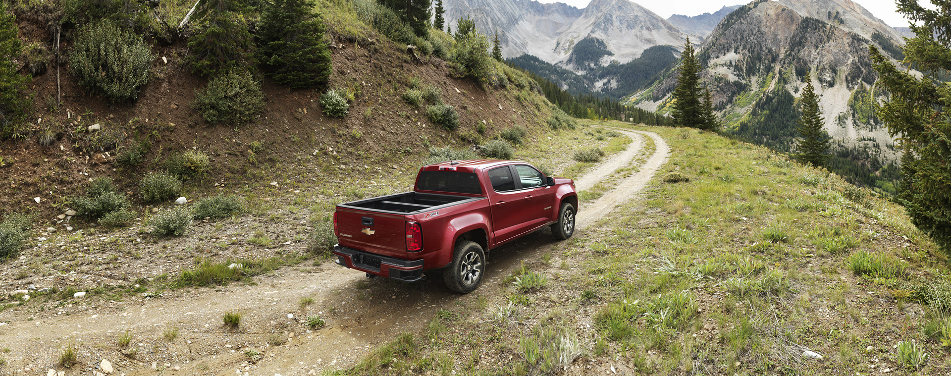 2016 Chevrolet Colorado Z71 © General Motors