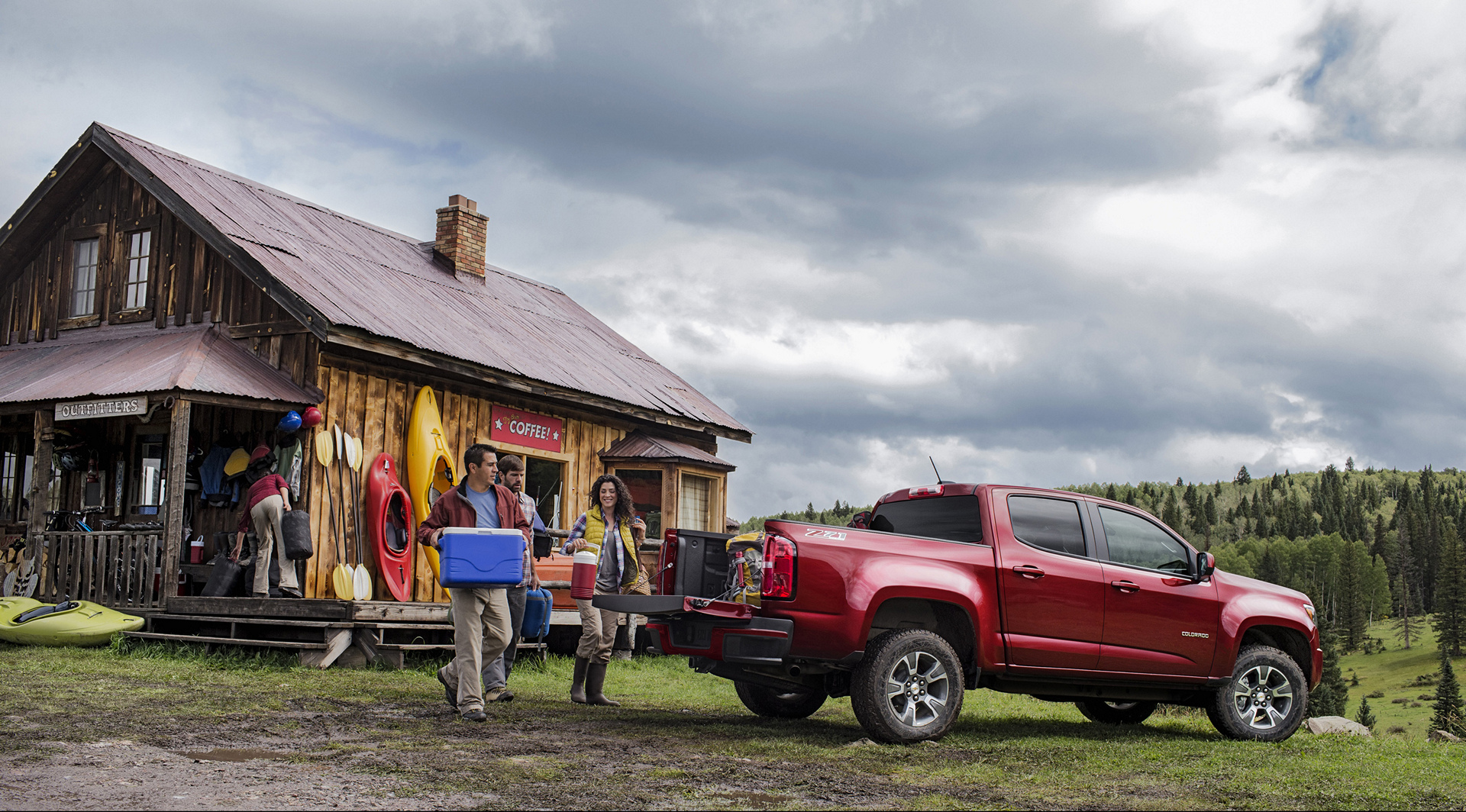 2016 Chevrolet Colorado Z71 © General Motors