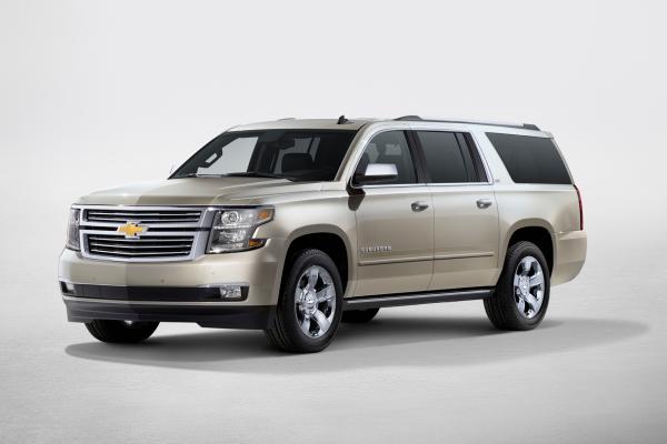 2016 Chevrolet Suburban © General Motors