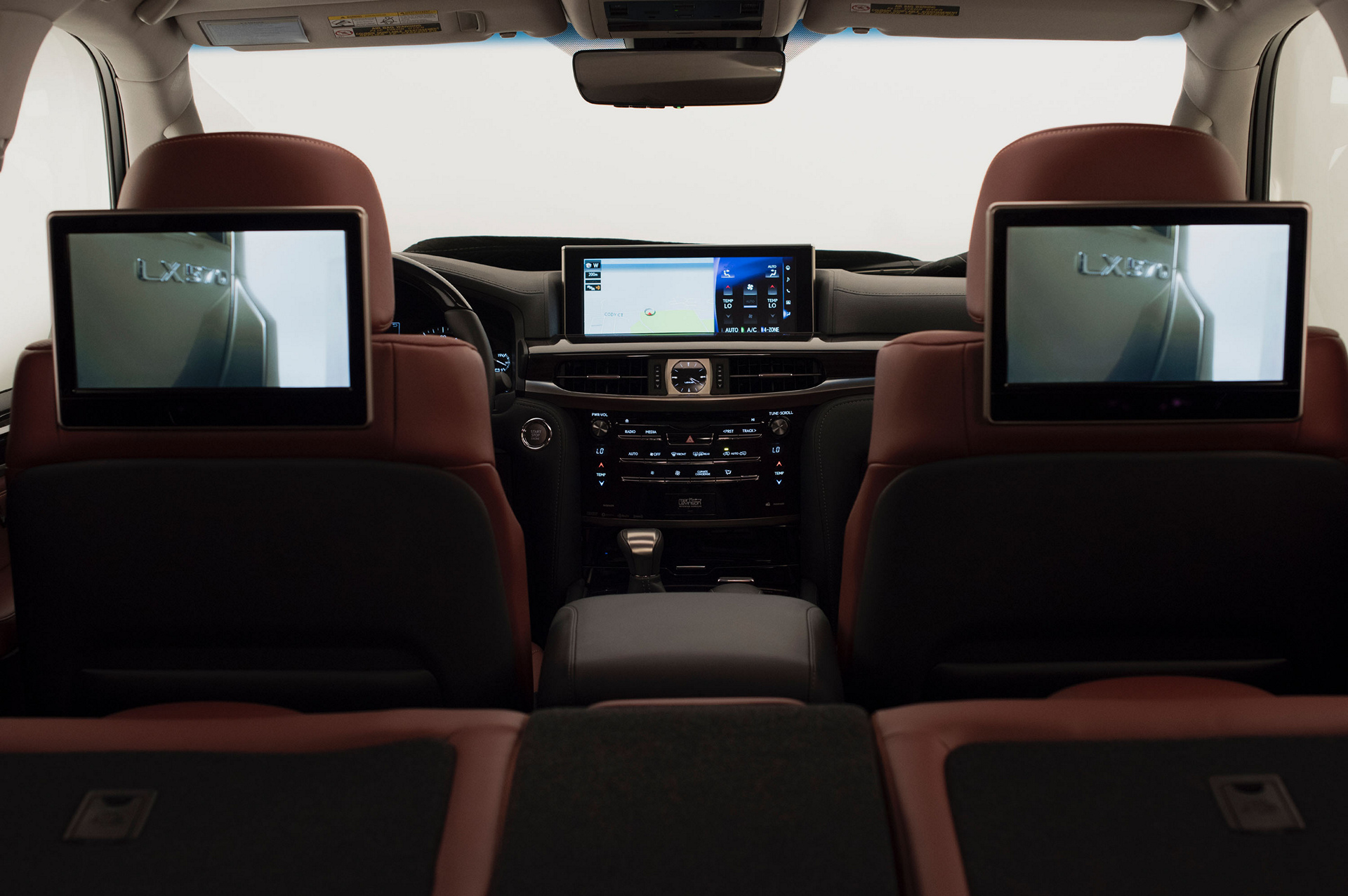 2016 Lexus LX 570 © Toyota Motor Corporation