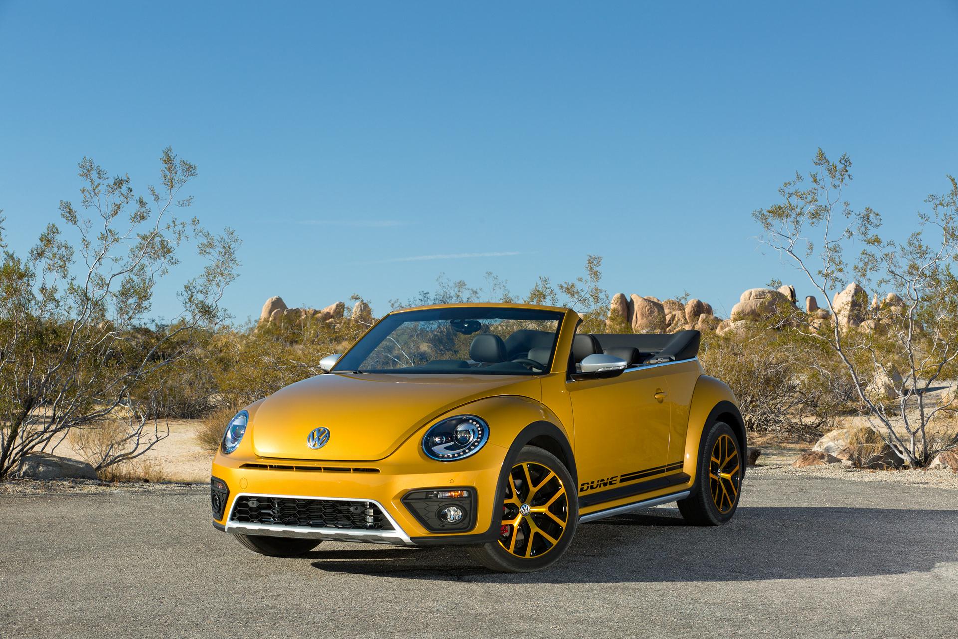 2017 Volkswagen Beetle Dune © Volkswagen AG