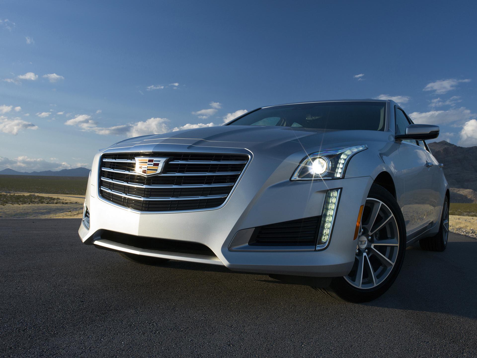 2017 Cadillac CTS © General Motors