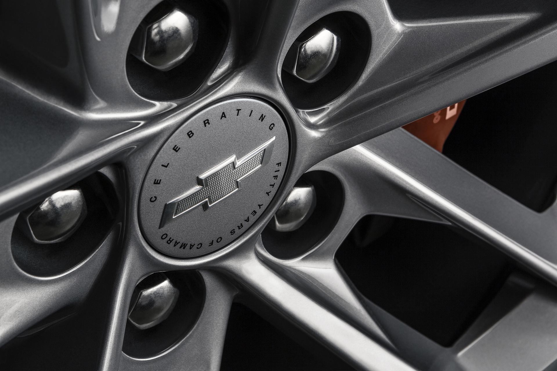 2017 Camaro 50th Anniversary Special Edition © General Motors