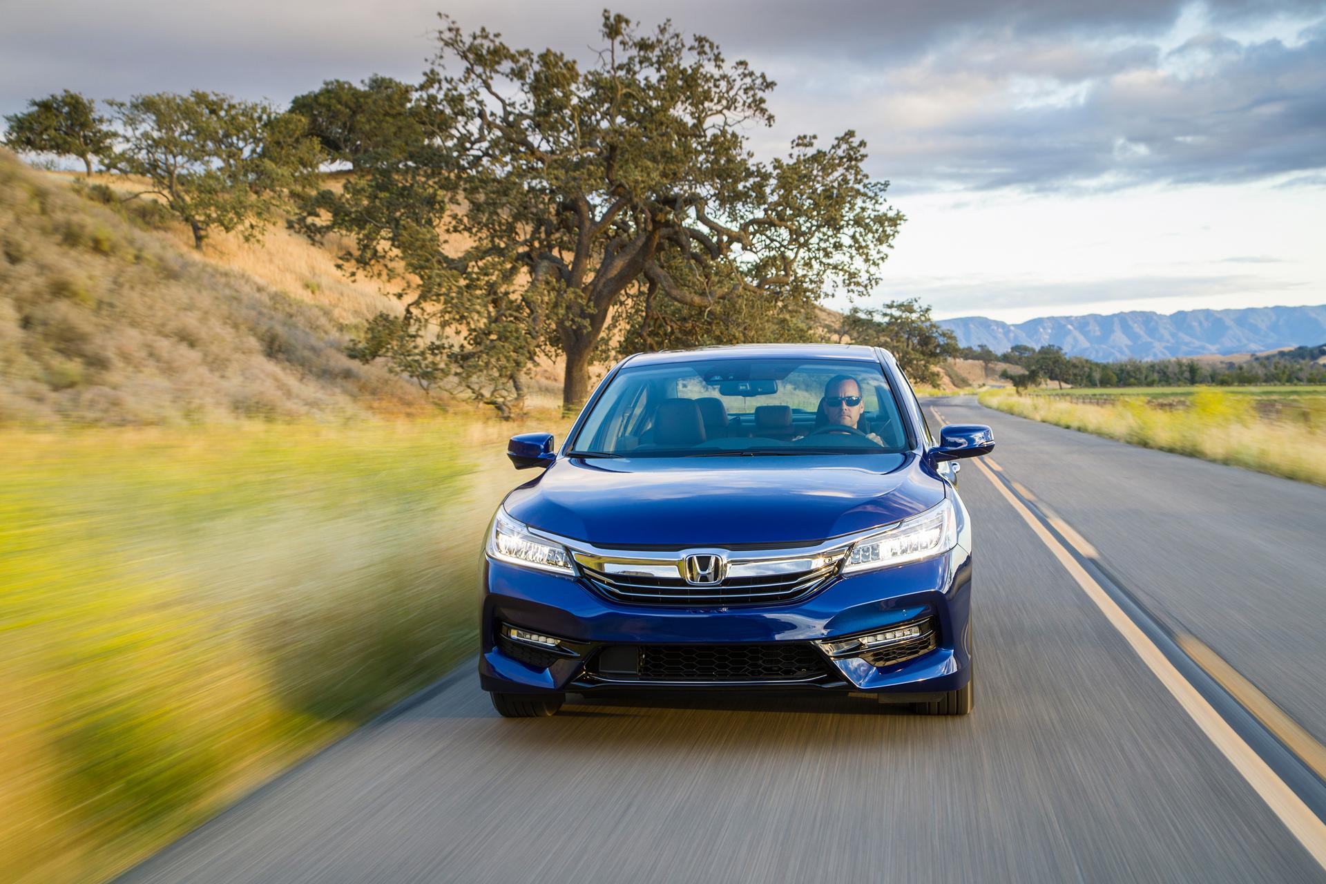 2017 Honda Accord Hybrid © Honda Motor Co., Ltd.