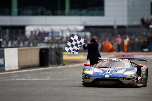 Ford GT wins class at 24 Hours of Le Mans © Ford Motor Company