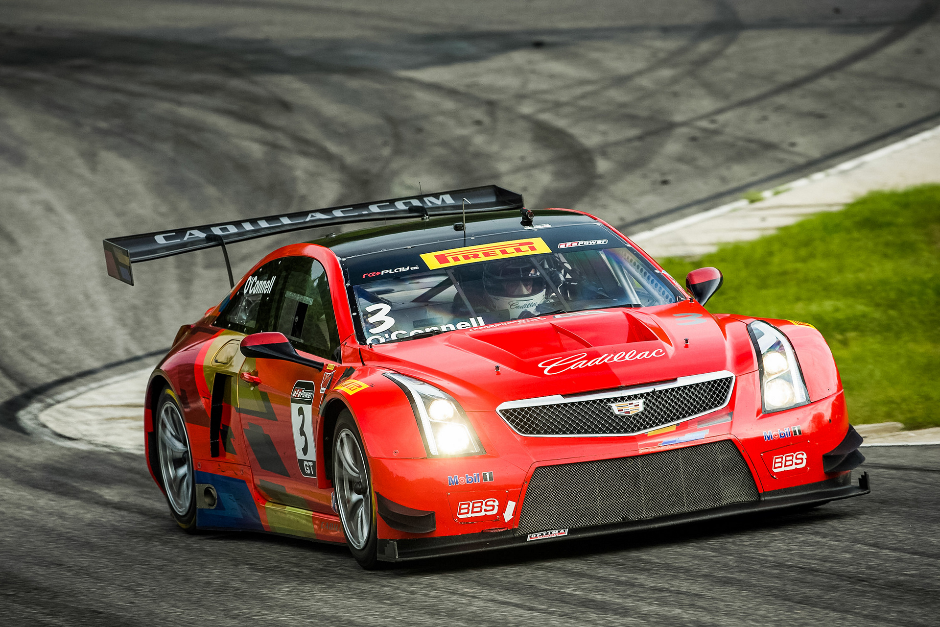 Cadillac ATS-V.R Racing Lime Rock Park © General Motors