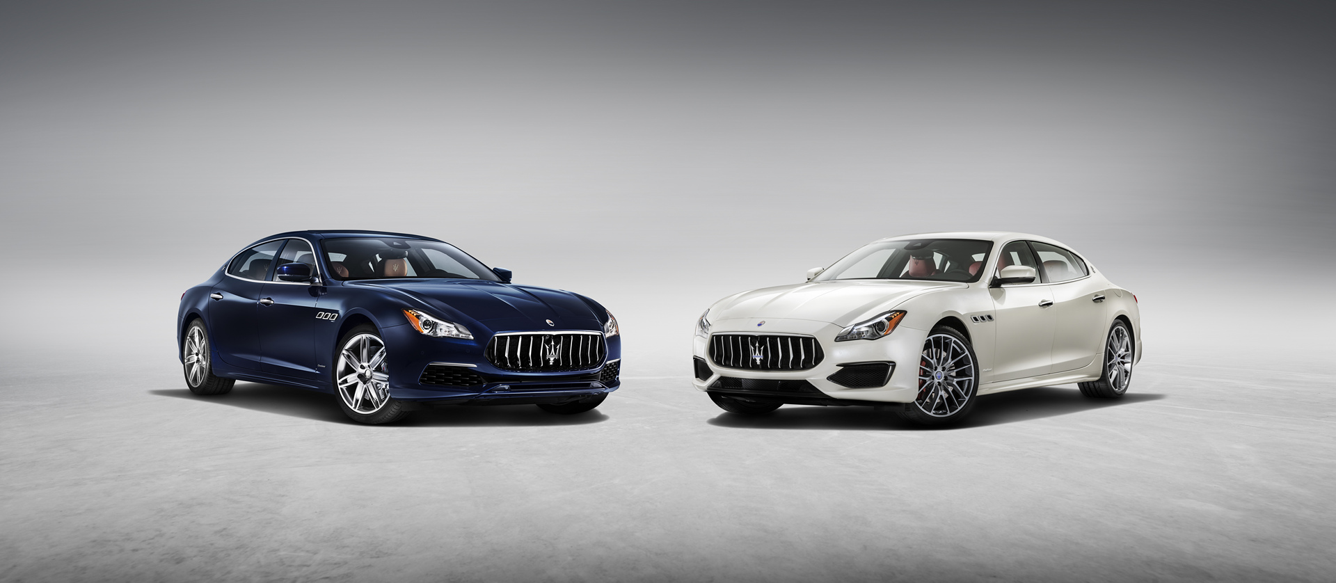 New Quattroporte SQ4 GranLusso version & GTS GranSport © Fiat Chrysler Automobiles N.V.