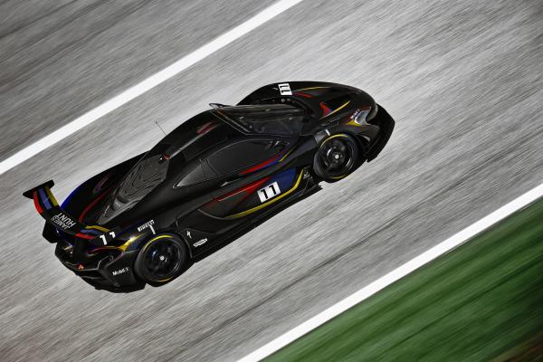 McLaren P1™ GTR © McLaren Automotive