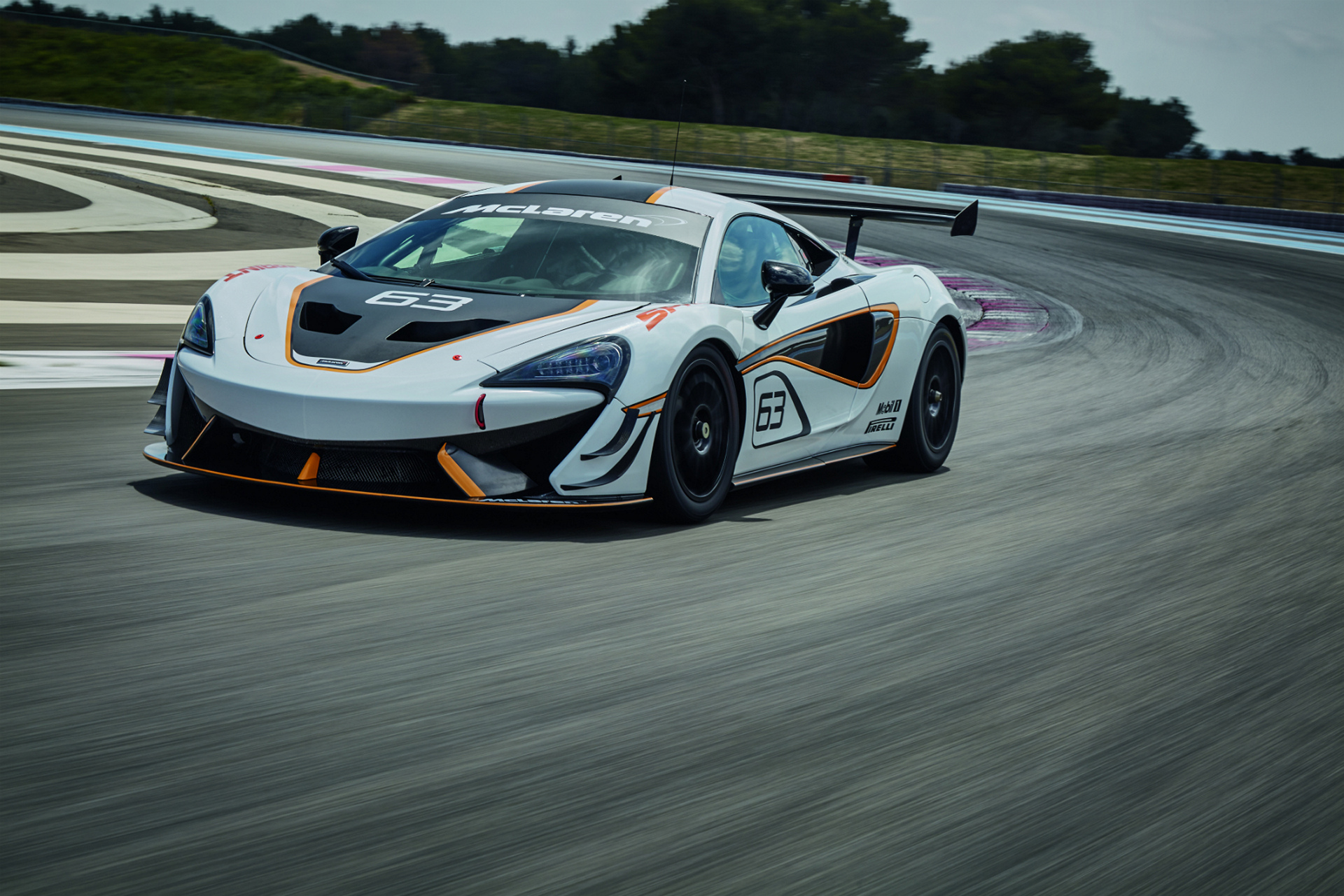 McLaren 570S Sprint © McLaren Automotive