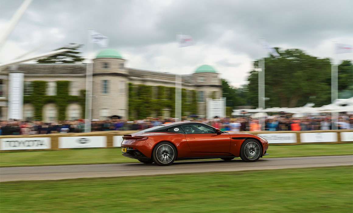 Aston Martin Wraps up Another Fabulous Festival of Speed © Aston Martin Lagonda Limited
