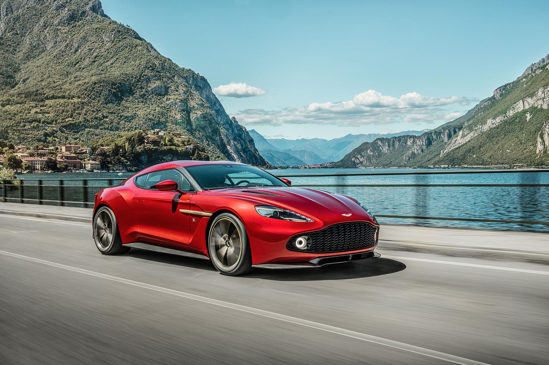 Aston Martin Unveils Limited Edition Vanquish Zagato © Aston Martin Lagonda Limited