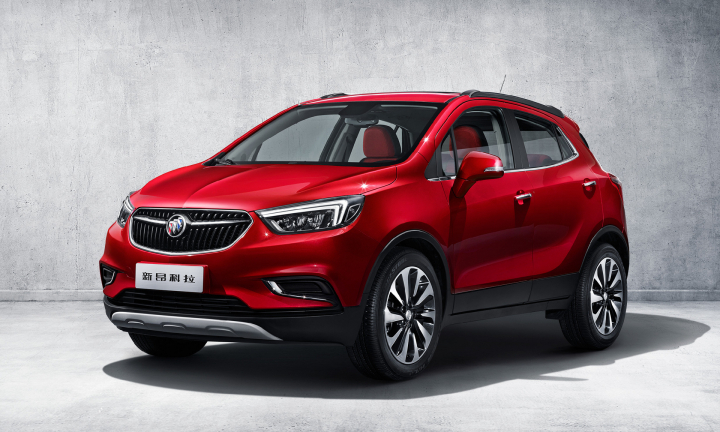Updated Buick Encore to Launch in China