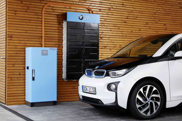 Battery Storage System Electrified by BMW i Announced at EVS29 © BMW AG