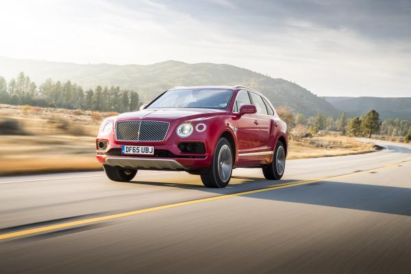 Bentley Bentayga © Volkswagen AG