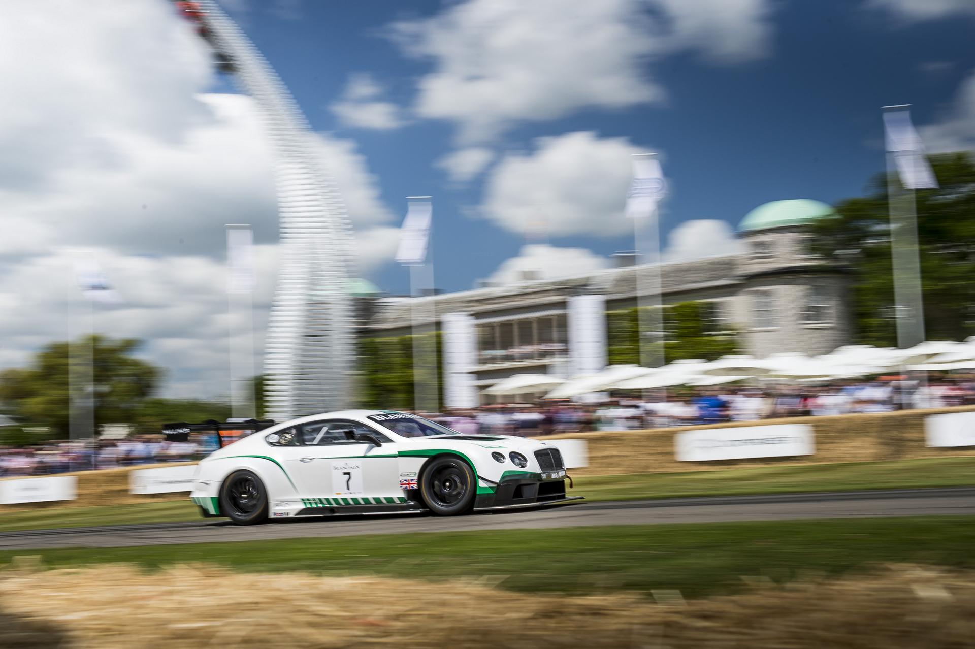 Bentley Continental GT3 race car © Volkswagen AG