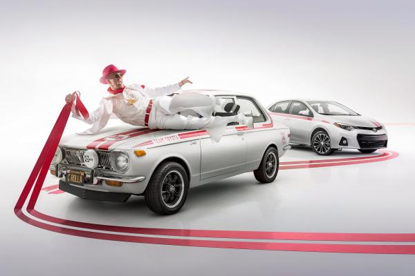 2016 Great Race - 1970 First Generation Toyota Corolla © Toyota Motor Corporation