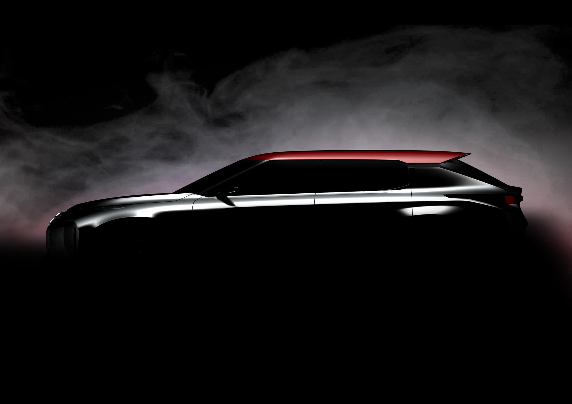 Mitsubishi Motors Ground Tourer Concept © Mitsubishi Group