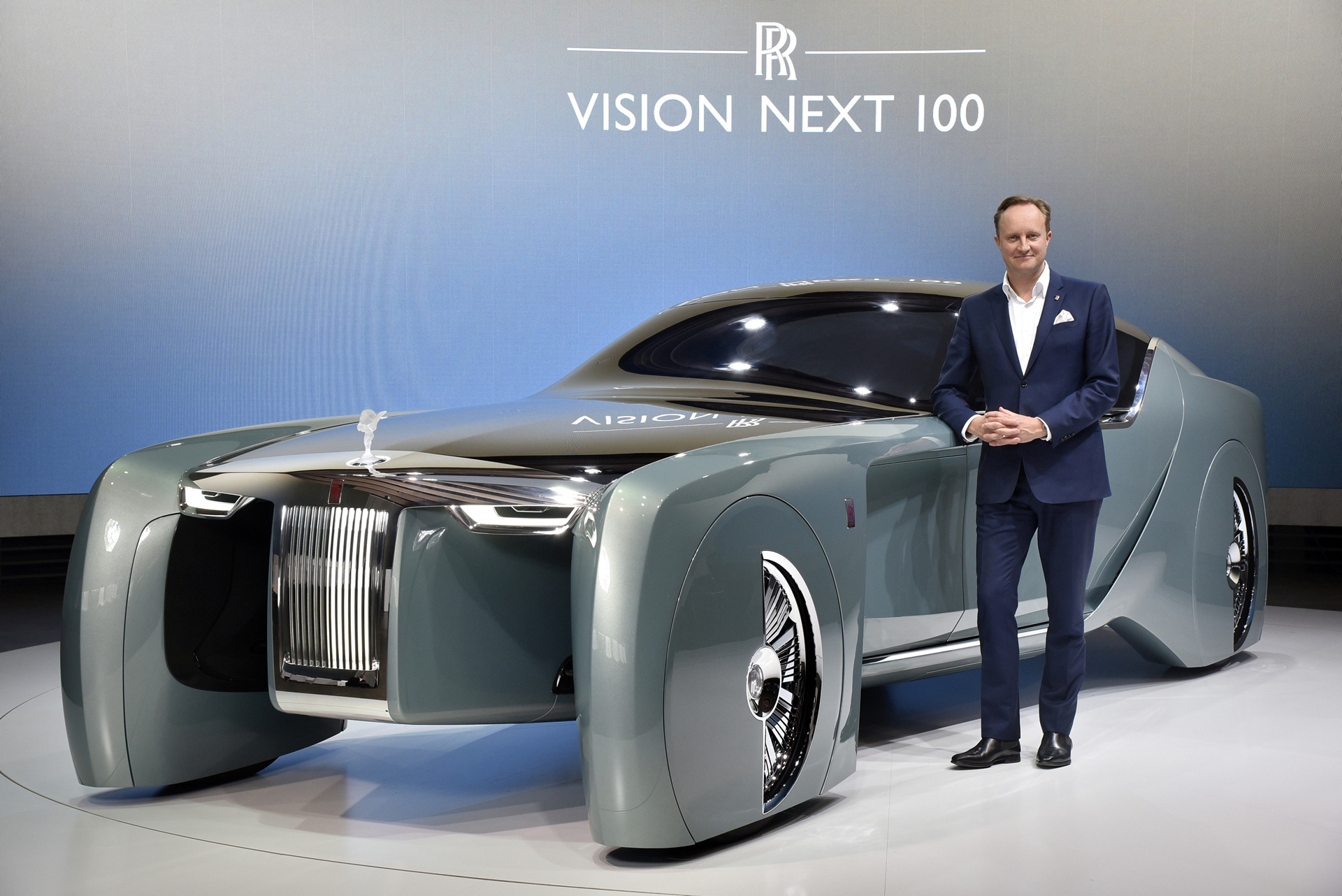Rolls Royce VISION NEXT 100 Giles Taylor Design Director Rolls