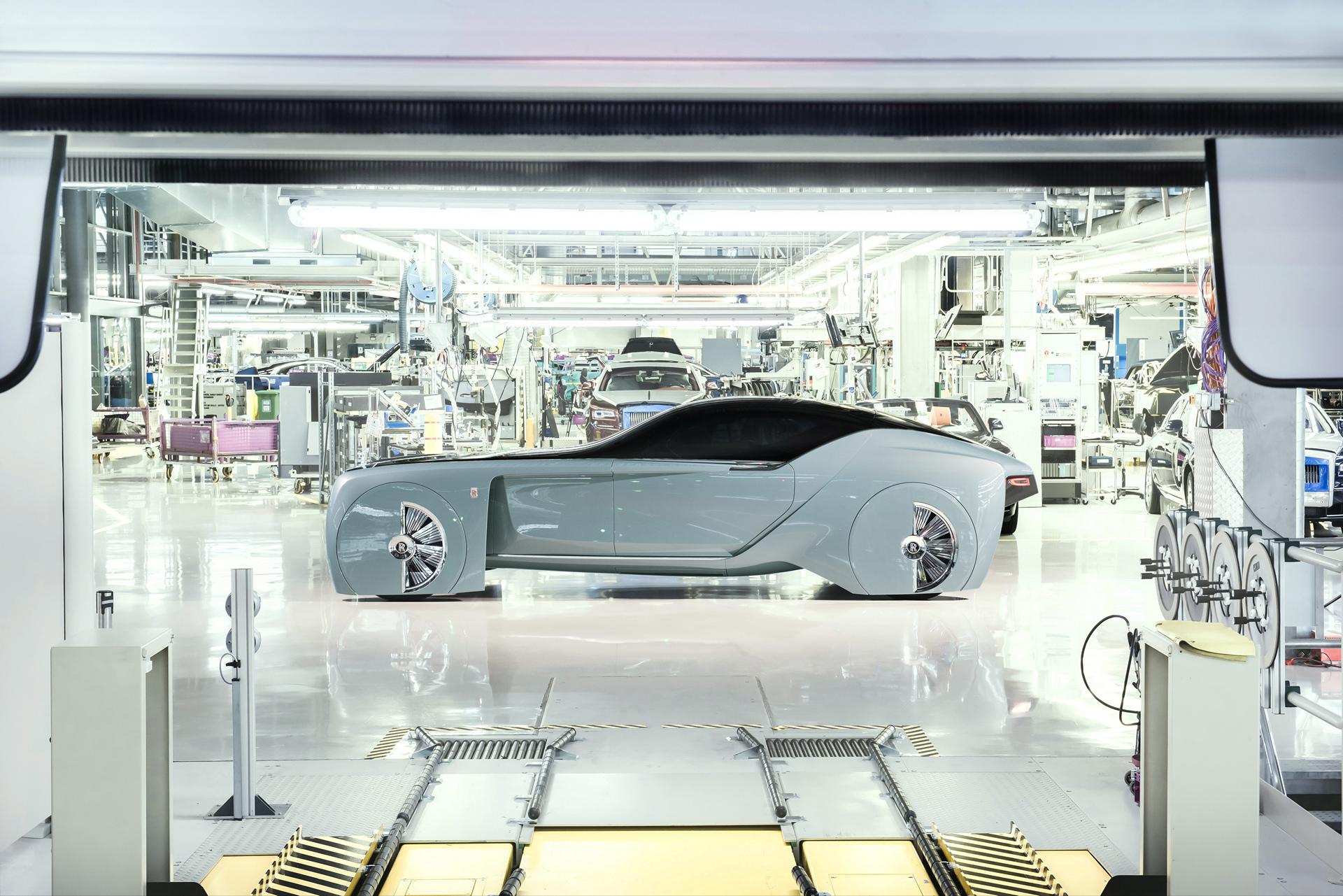 Rolls-Royce VISION NEXT 100 © BMW AG