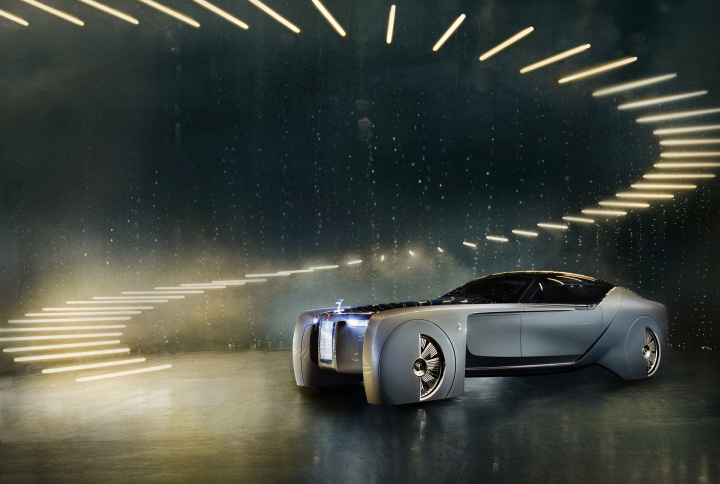 Rolls-Royce: A Grand Vision of the Future of Luxury Mobility