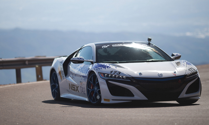 2017 Acura NSX Claims Class Victory at Pikes Peak International Hill Climb