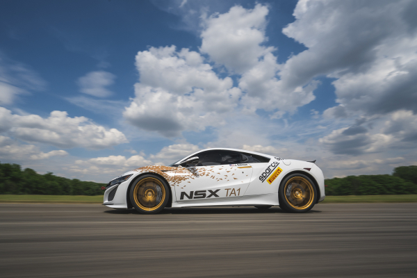 Acura NSX Time Attack 2 Vehicle © Honda Motor Co., Ltd.