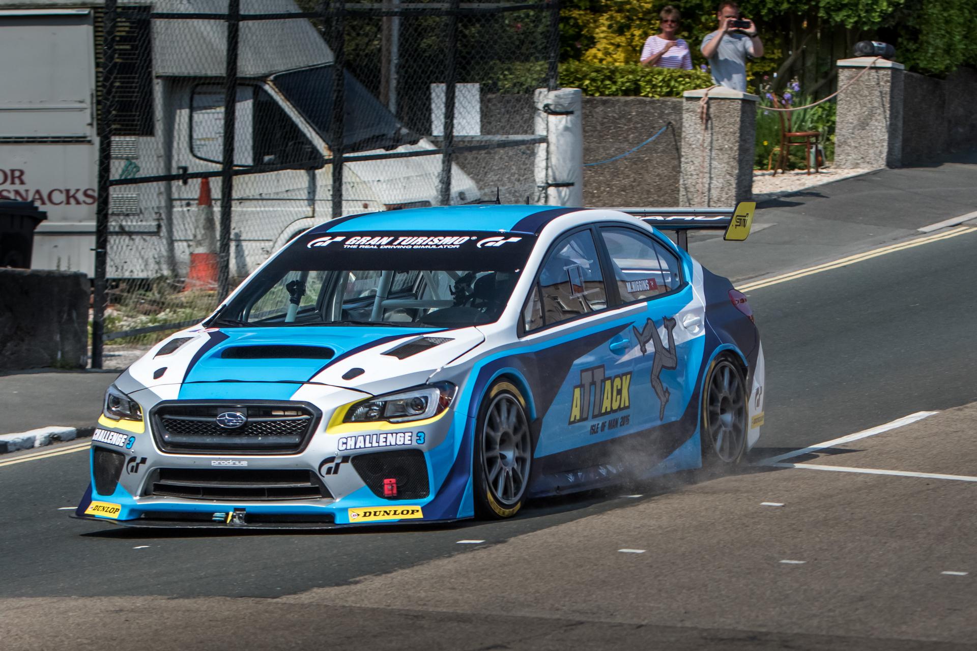 New Subaru WRX STI Time Attack Car Shatters Lap Record © Fuji Heavy Industries, Ltd.