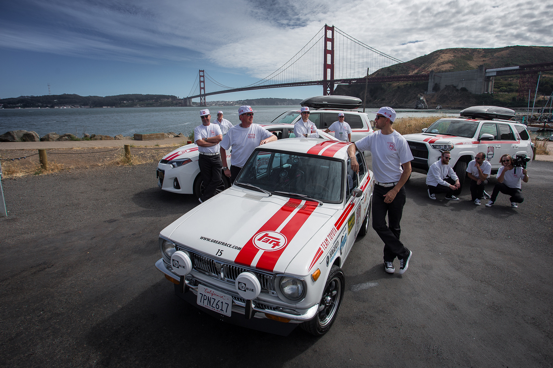 2016 Great Race - 1970 First Generation Toyota Corolla © Toyota Motor Corporation