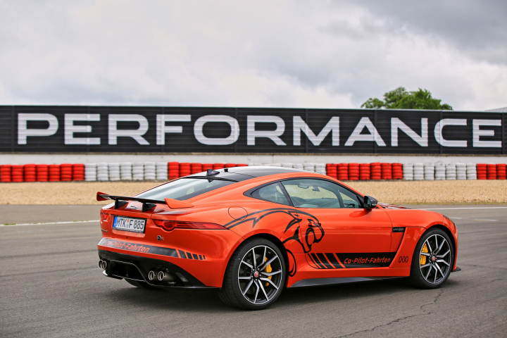 New Jaguar F-Type SVR Unleashed at the World-Famous Nurburgring
