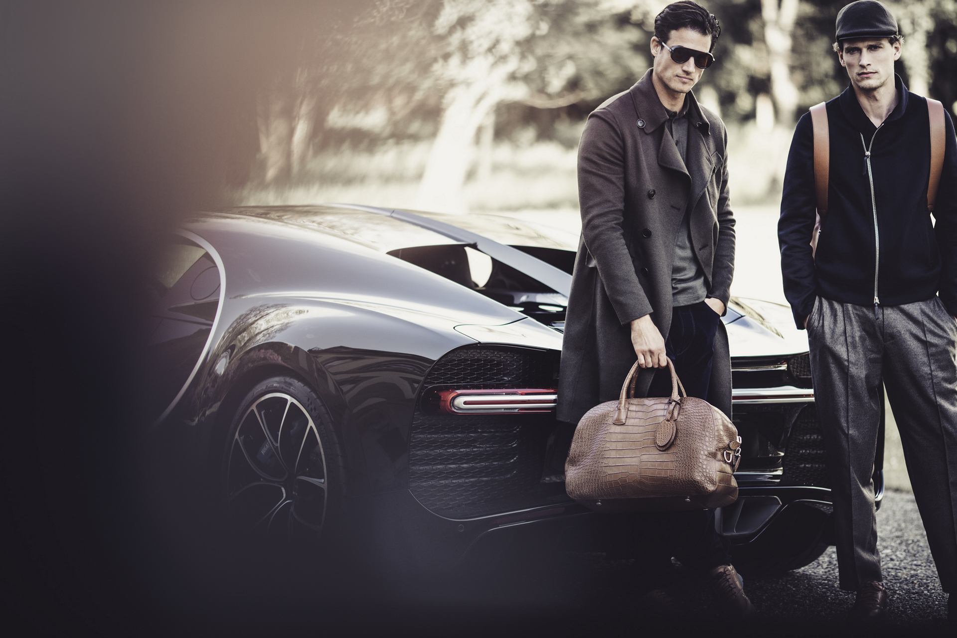 Armani Collaborates with Bugatti on a Limited Edition Line of Products © Volkswagen AG
