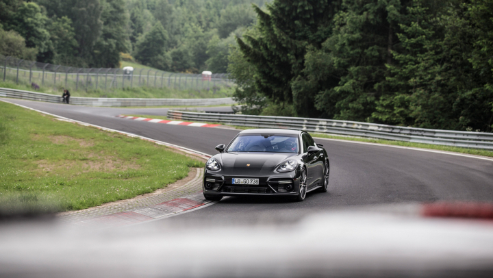 The New V8 Petrol Engines for the Porsche Panamera