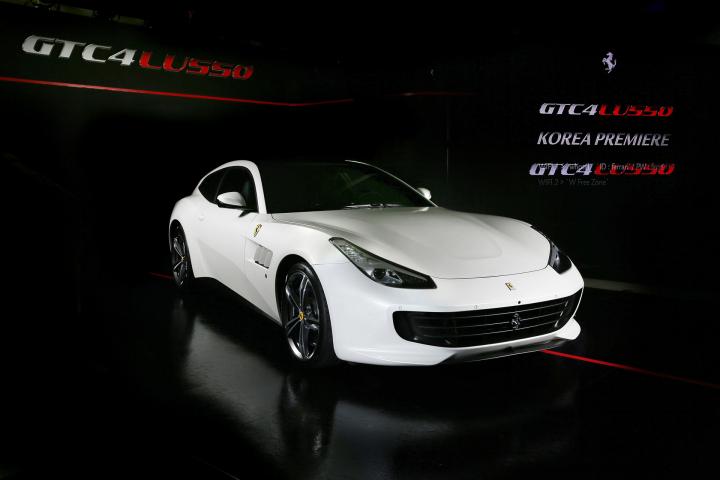 Ferrari GTC4Lusso Korea Premiere