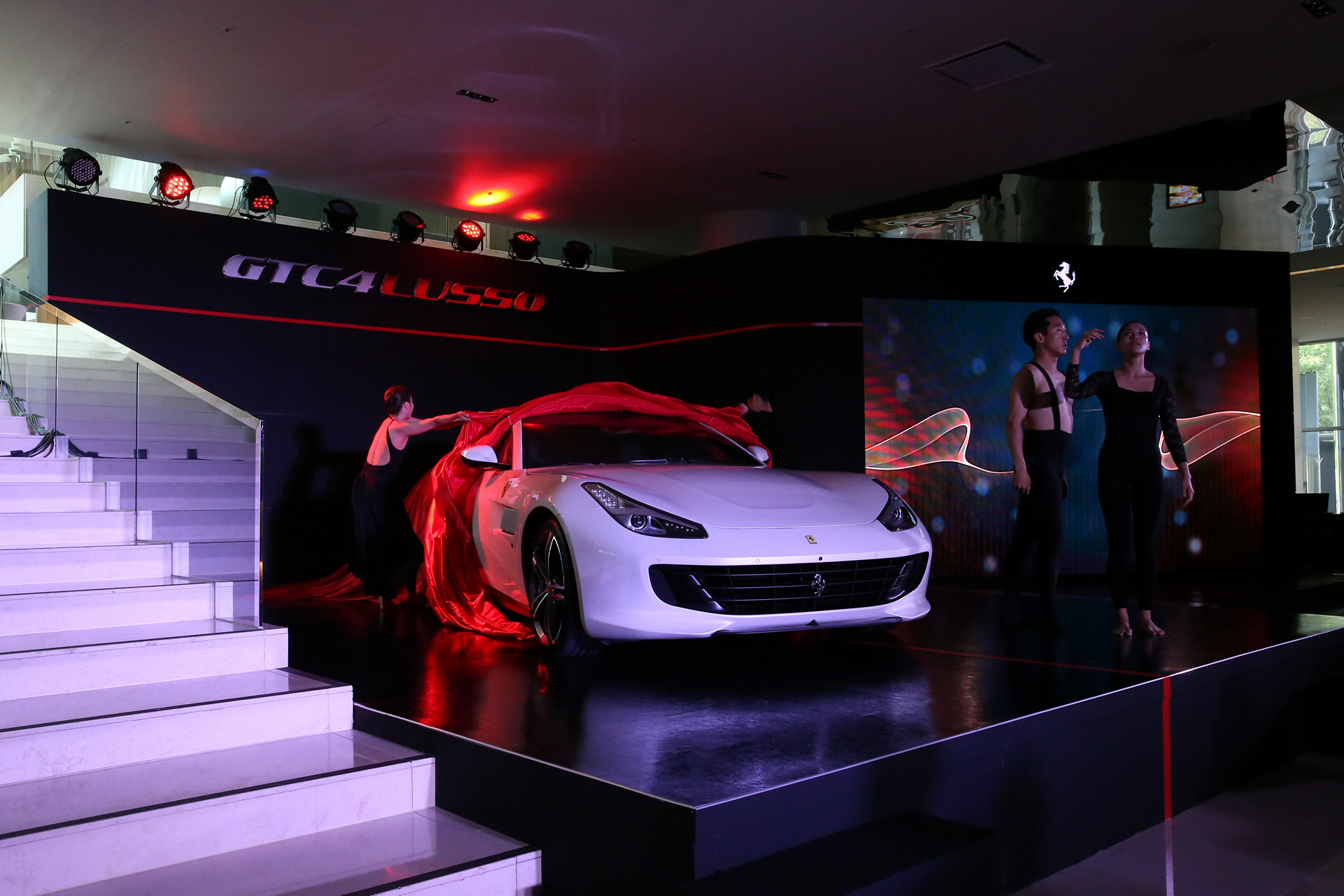 Ferrari GTC4Lusso Korea Premiere © Fiat Chrysler Automobiles N.V.